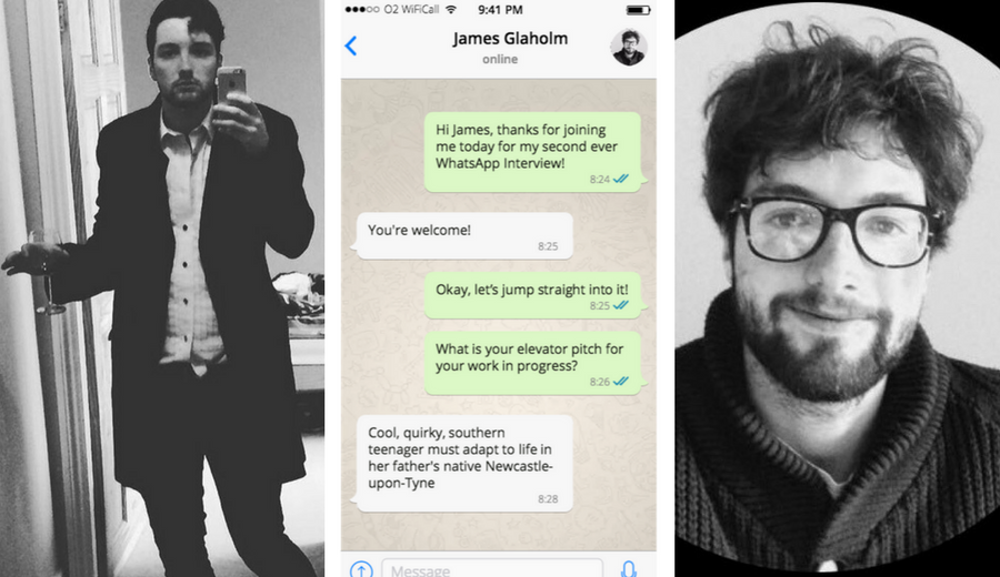 the whatsapp interviews – james glaholm